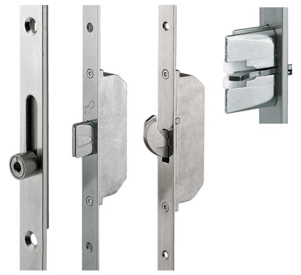 Замки многозапорные для металлических дверей